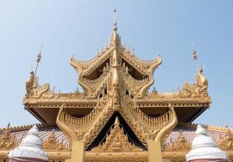 Kyauktawgyi Pagoda in Myanmar