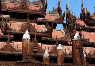 Shwenandaw Monastery Myanmar