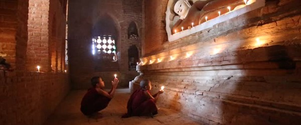 Monasteries or Pagodas are a good place to Meditate in Myanmar