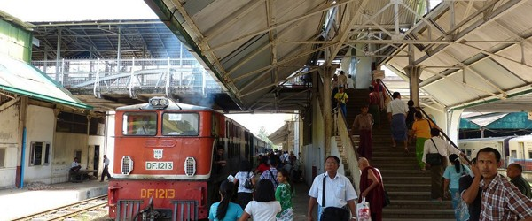 Train Expeditions in Myanmar
