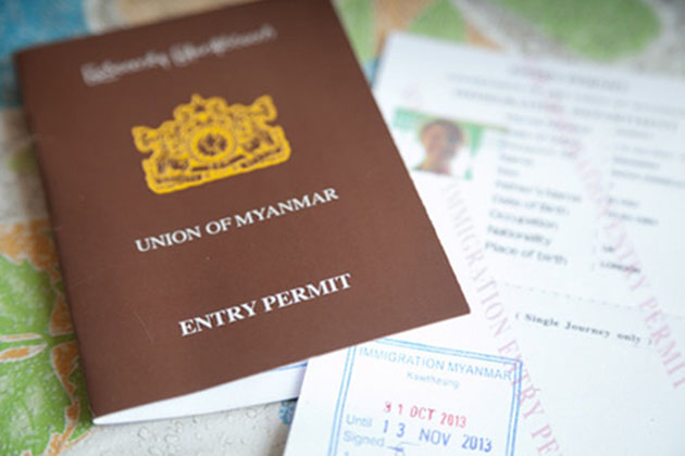 Myanmar visa-List of Myanmar visa exemption