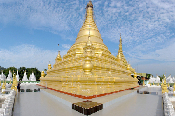 Sandamuni Pagoda, Mandalay, Myanmar