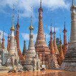 Shwe indein ancient temple