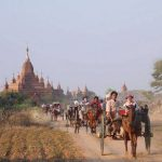 get on a horse carriage to explore Bagan
