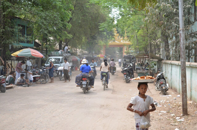 the idyllic pakokku town