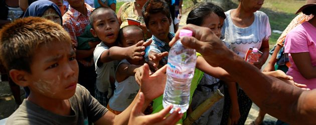 Bottled water is highly recommended in Myanmar