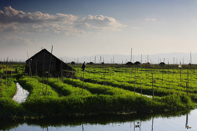 Inle Lake - one of the attractions in Myanmar has been on the tentative list for UNESCO world heritage sites