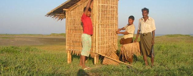 Myanmar Local Toilet