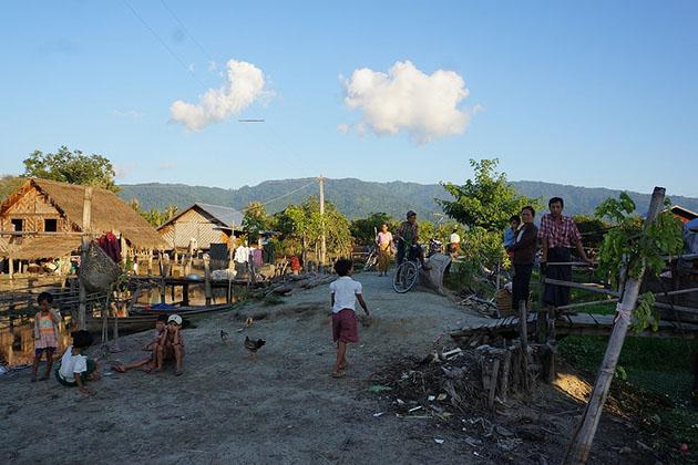 hepa village nearby Indawgyi Lake