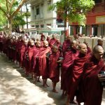 Morning Ceremony in Mahagandayon Monastery