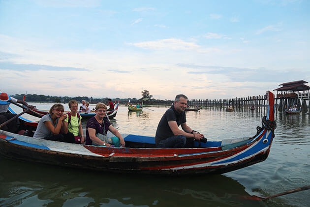 take a boat trip to behold the charming u bein bridge