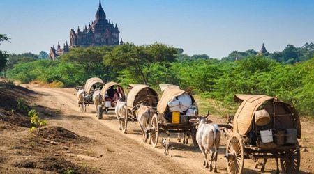 Bagan - Salay (Sale) - Mt. Popa Tour