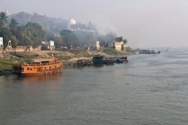 Chindwin River, Monywa