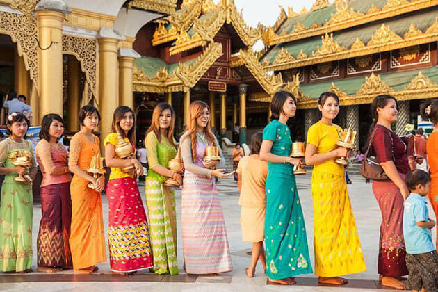 History of Myanmar national dress