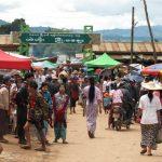 Local market at Taung Yoe Tribal Village