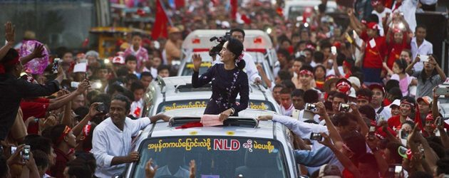 Myanmar Politics - Myanmar Holding Landmark Election