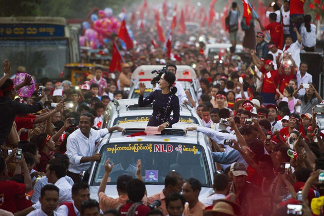 Myanmar Politics - Myanmar Holding Landmark Election