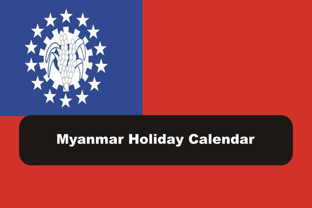 Myanmar Public Holiday Calendar