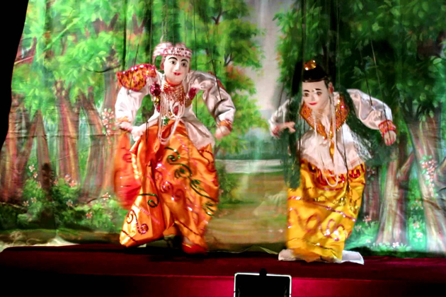 Myanmar Traditional Puppet Show