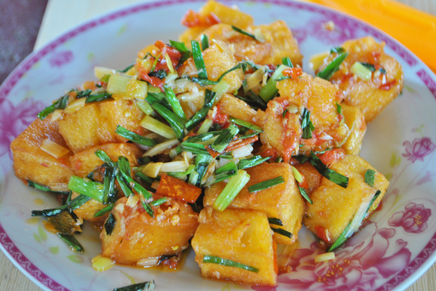 Vegetarian Food - Shan Tofu Curry
