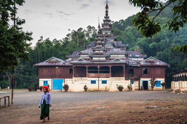 Taung Yoe Tribal Village