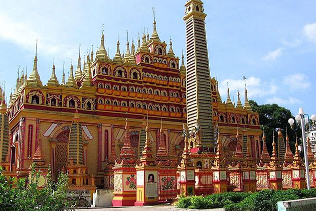 Thanboddhay pagoda - monywa attraction