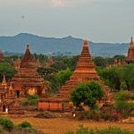Thousands temples of Bagan