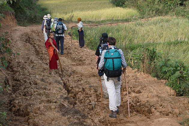 Kalaw Inle trekking tour through the peaceful village
