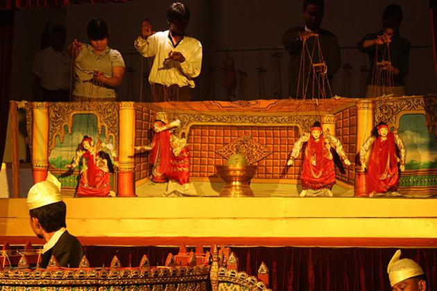 Nan Dar Restaurant and Puppet Show