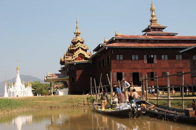 Nga Phae Chaung monastery