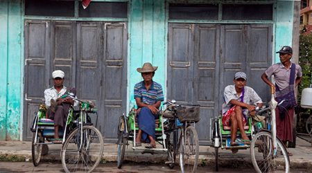 Trishaw - Myanmar Unique Vehicle