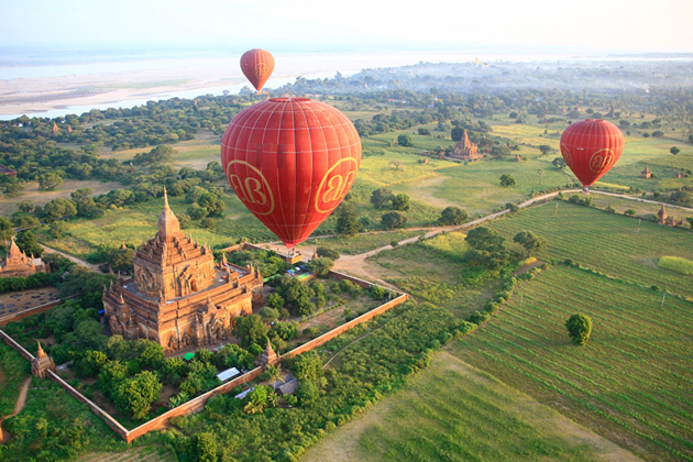 All Things about Hot-Air Balloon Travel in Myanmar