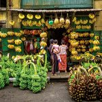 Banana Shop in Yangon