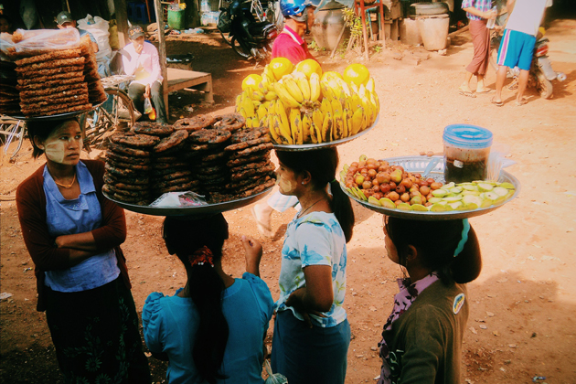Consider your health situation before trying various choices of food and drink in Myanmar