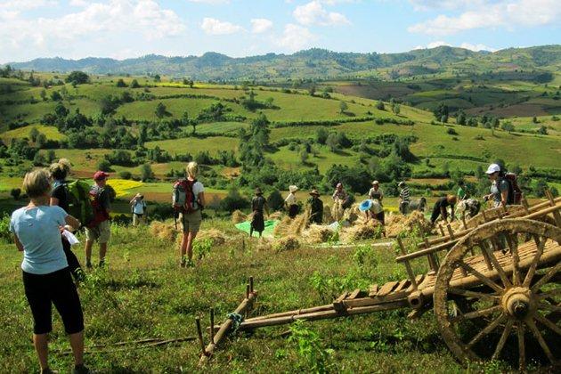 Kalaw - Inle trekking journey