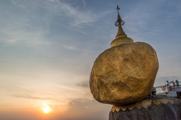 Kyaiktiyo Pagoda - The Golden Rock