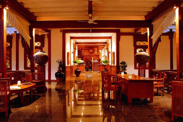 Mandalay Restaurant at Belmond Governor Residence