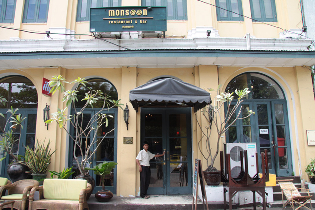 Monsoon Restaurant Yangon
