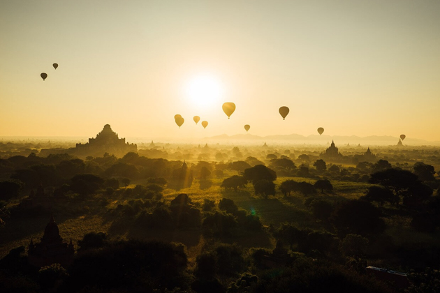 Myanmar is a wonderful land of pagodas and temples