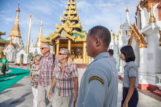 Prepare suitable outfits when visit sacred pagodas and temples in Myanmar