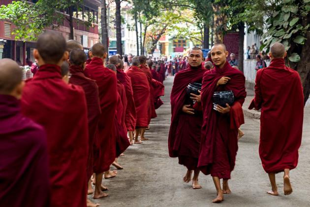 Show respect to Myanmar religions