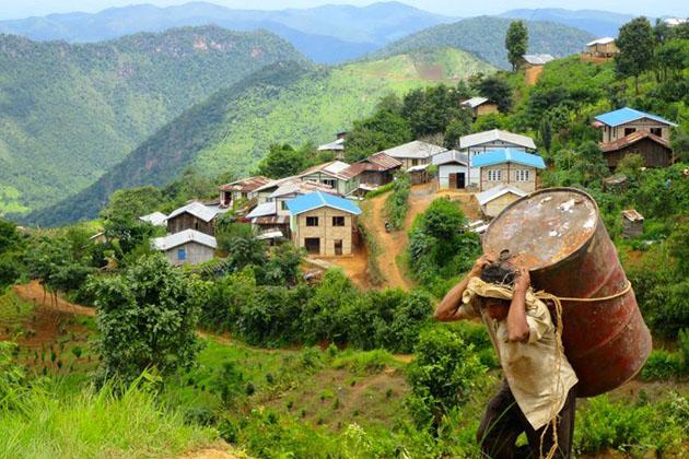 Trekking Kalaw in Myanmar eco tour 7 days