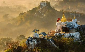 the trail of myanmar - burma trip