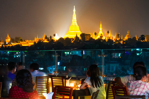 Myanmar nightlife