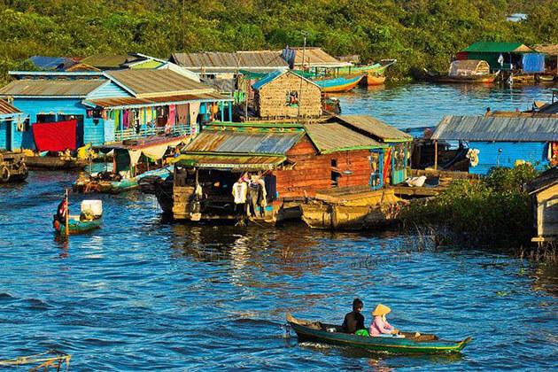 Chong Khneas Floating Village - myanmar cambodia tour
