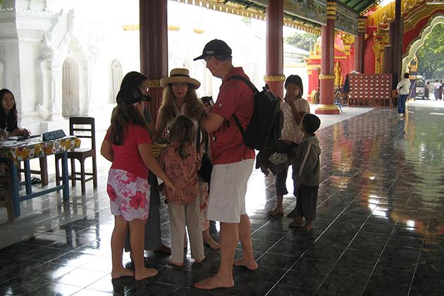 Family safe travel in Myanmar