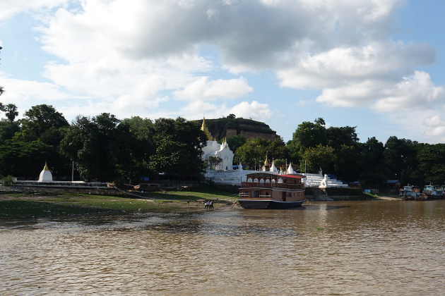 Mingun Boat Trip in Mandalay tour