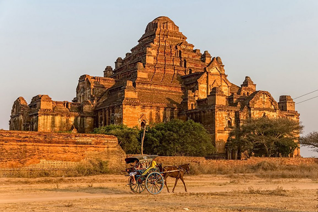 Myanmar is a safe place for solo travel