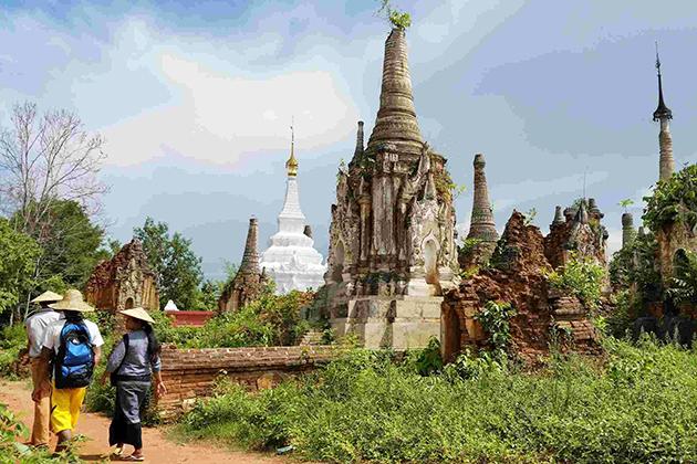 Indein Temples