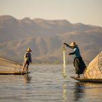 Myanmar leg rowing Inle